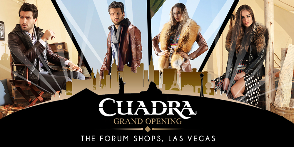 Cuadra hit the jackpot! Grand opening Forum Shops